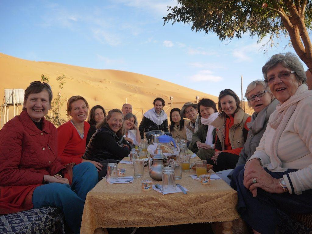 Desert Lunch Morocco